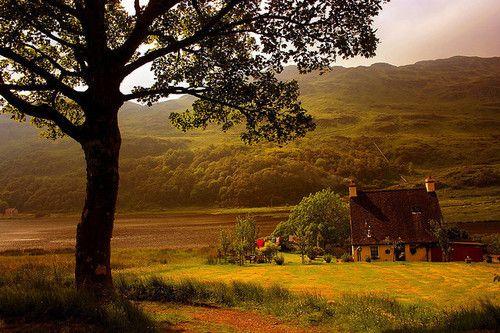 Country Cottage, Lake District, England photo via anna