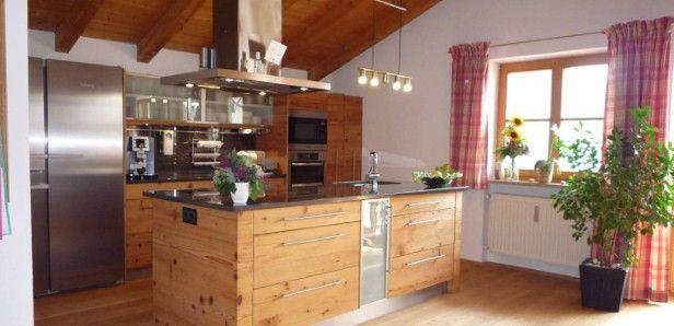 Küche in Fichte-Altholz | Küchen | Pinterest | Fichten, Altholz ...