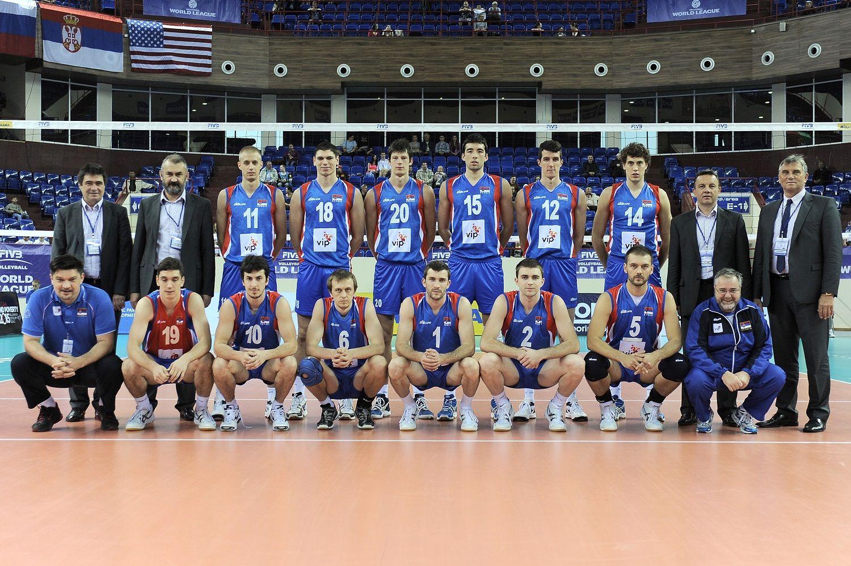 Seniori U Svetskoj Ligi 2012 Senior Men Of Serbia In The 2012 World League Mens Volleyball Volleyball Men