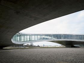 Rolex Learning Center, by SANAA.