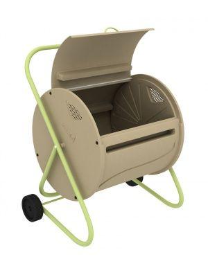 Composteur A Tambour Rotatif Composteur Mobilier De Jardin Design Composteur Rotatif
