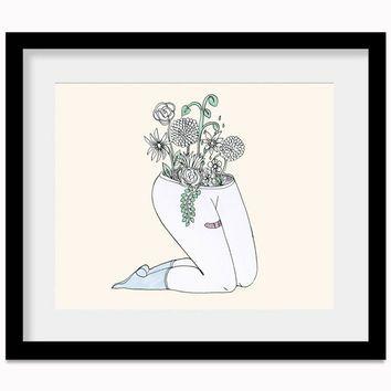 Plantas Print