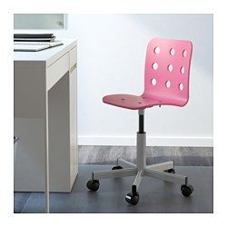 Ikea Jules Chaise De Bureau Enfant Rose Couleur Argent La