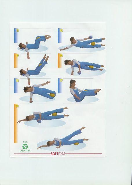 Tabla de ejercicios con pelota pequeña o CHIBALL. (II)  85157a3669db