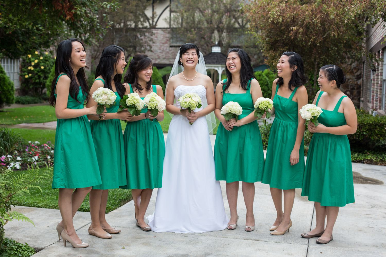 Kelly green bridesmaids dress so refreshing works beautifully kelly green bridesmaids dress so refreshing works beautifully with the light green cream ombrellifo Gallery