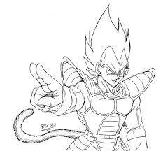Resultado De Imagen Para Goku Y Vegeta Para Colorear Fase 4