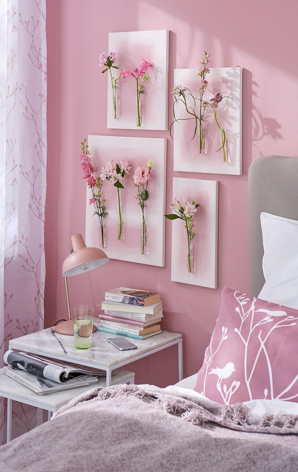 Blumenbilder // Gemalte Blumen hat jeder an der Wand hängen, aber ...