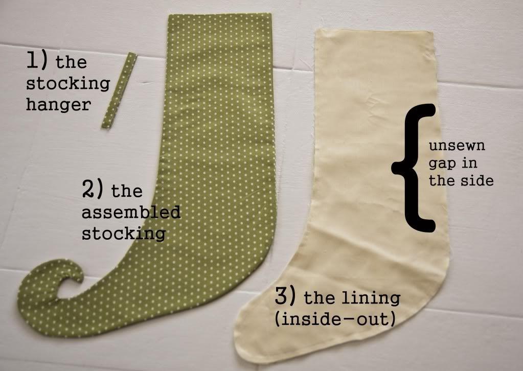Lella Boutique: Embellish a Stocking Cuff