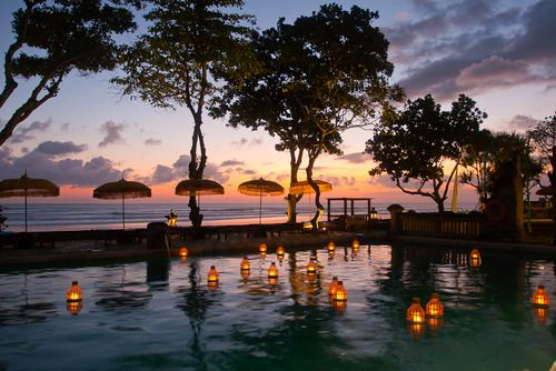 The Oberoi hotel, Bali, Indonesia