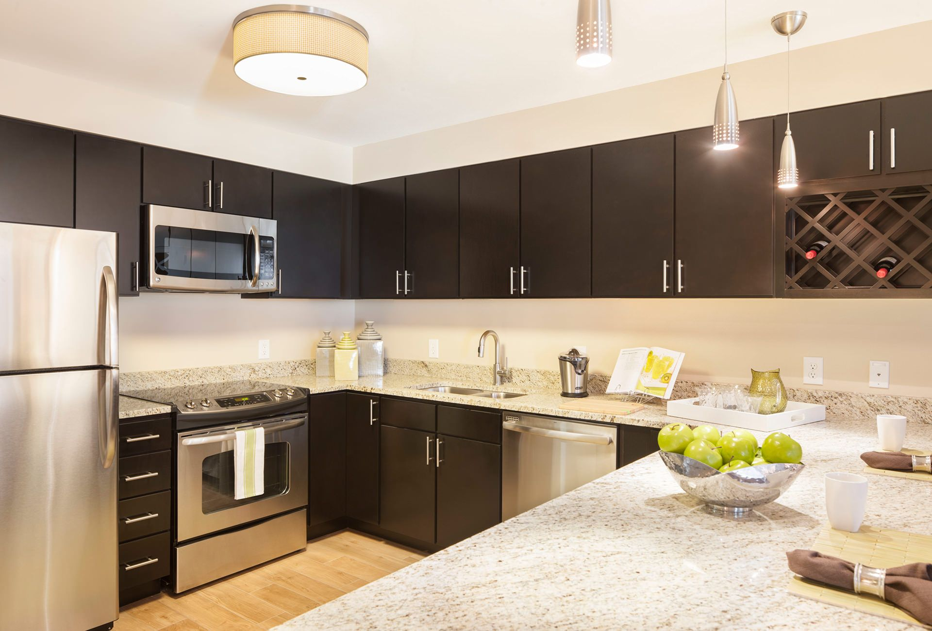 Espresso Kitchen Cabinets the Backsplash Depot in 2020 ...