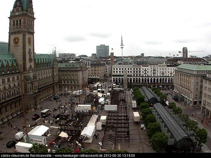 Webcam Stuttgart Weihnachtsmarkt.The Day After Webcam Vom Rathausmarkt Abbau Vom Stuttgarter