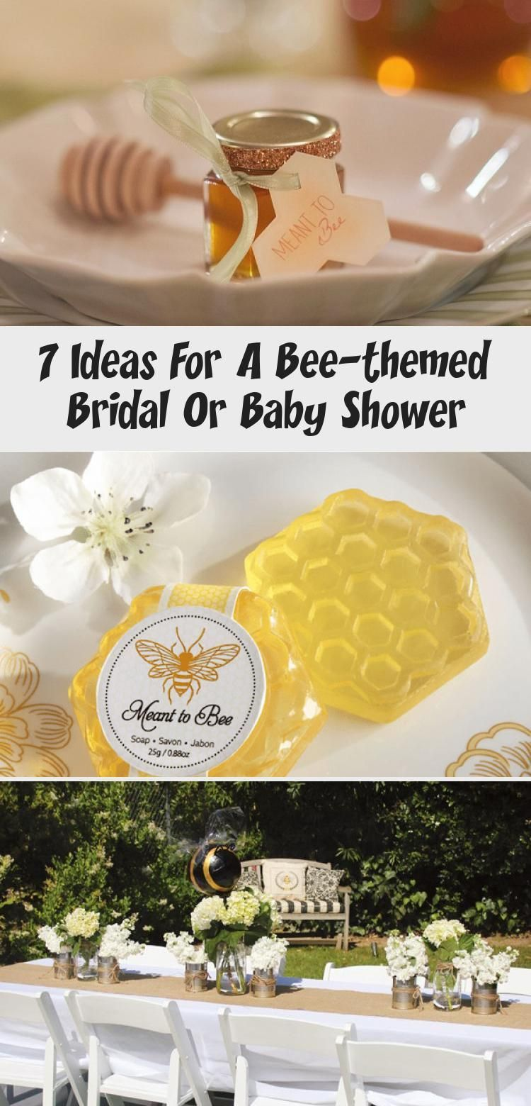 7 Ideas For A Beethemed Bridal Or Baby Shower  İdeas