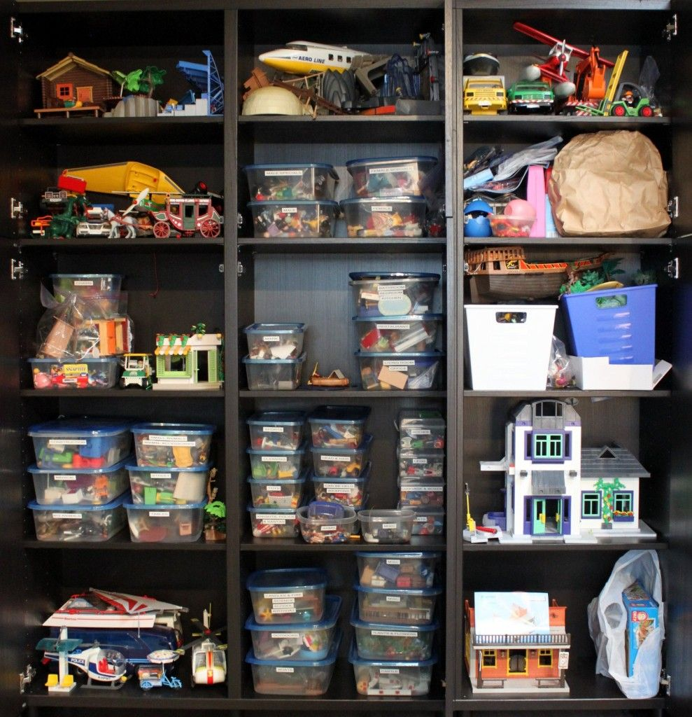 playmobil storage basement pinterest salles de jeux. Black Bedroom Furniture Sets. Home Design Ideas
