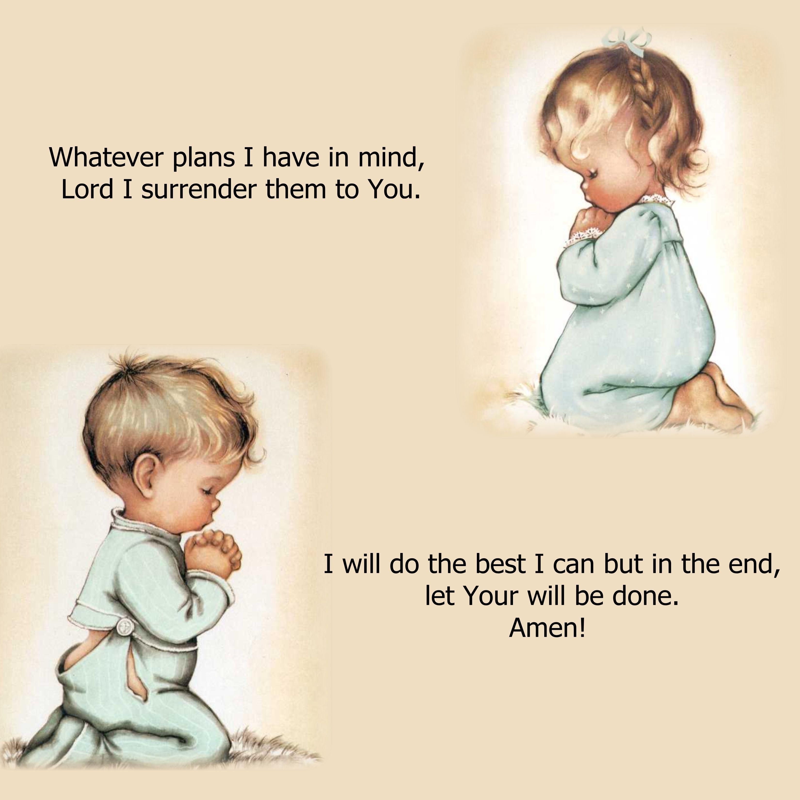 Child's Prayer | PRAYERS AND MORE :) | Simple Prayers ...