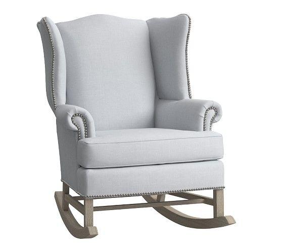 Thatcher Rocker Amp Ottoman Nursery Chair Ottoman Rocker