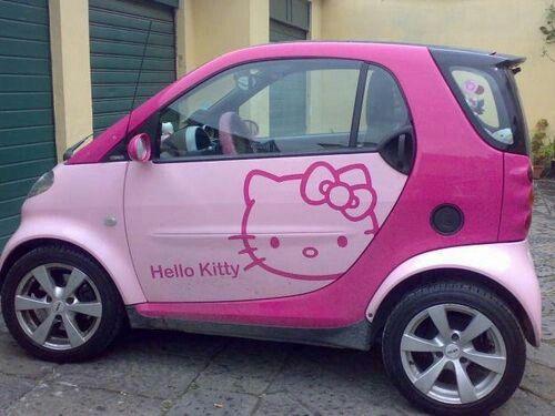 Hello Kitty Car Cars Hello Kitty Car Pink Hello Kitty Car