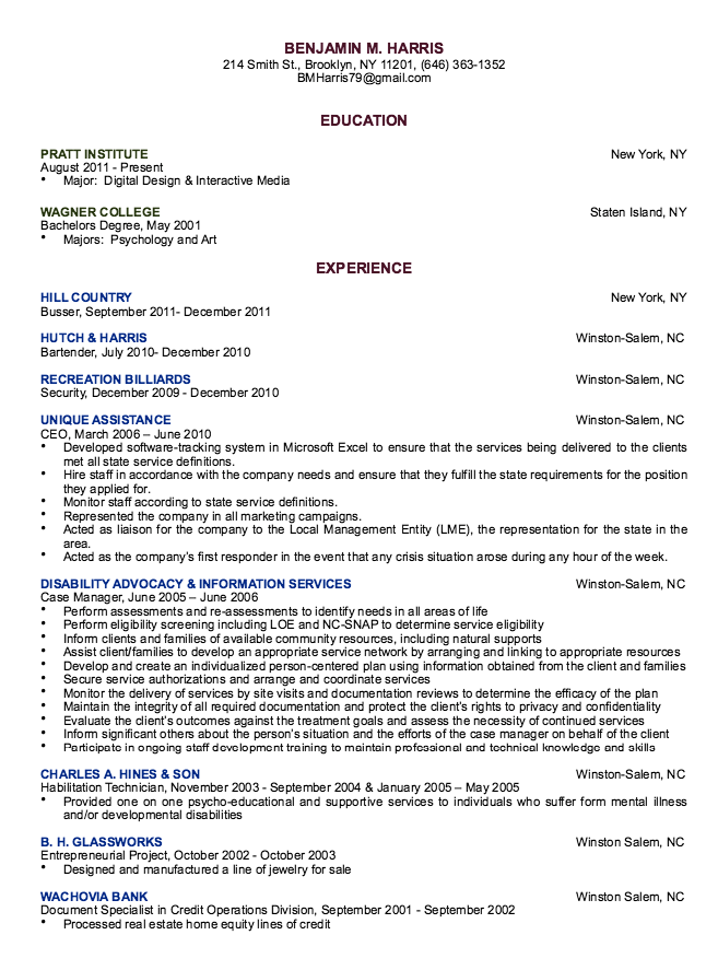 Habilitation Technician Resume Samples  HttpResumesdesignCom