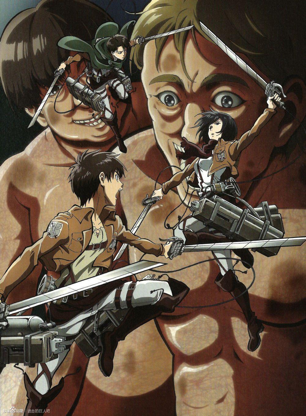anime levi snk shingeki no kyojin Mikasa Ackerman AOT ...
