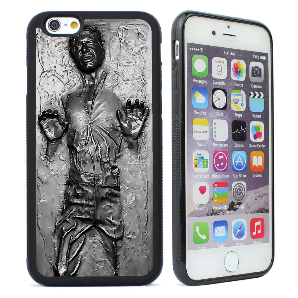 new product 14544 a8407 Star Wars Han Solo Carbonite Case Cover for iPhone 4 4s 5 5s 5c SE 6 ...