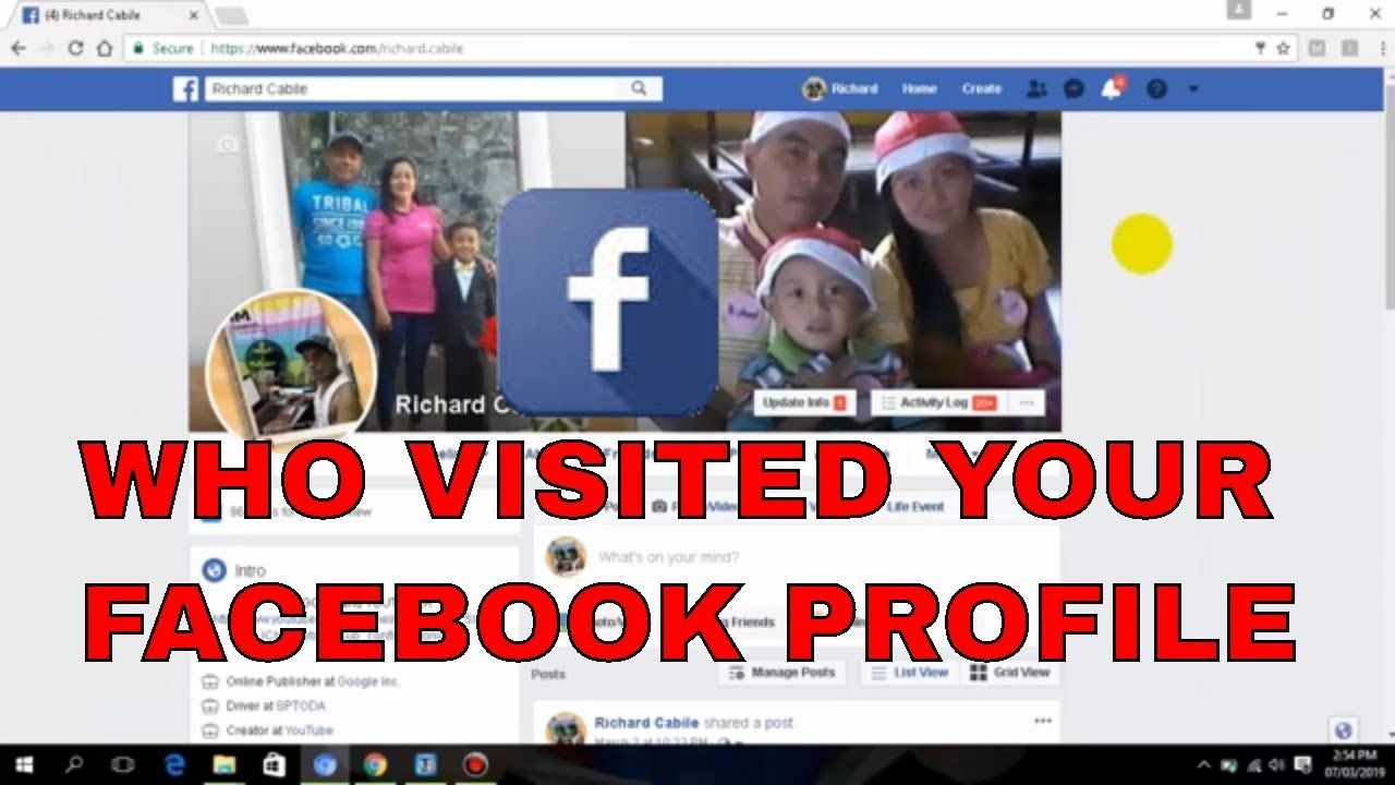 How To See Who Viewed Your Facebook Profile Most Facebook Tutorial F Facebook Profile Profile Tutorial