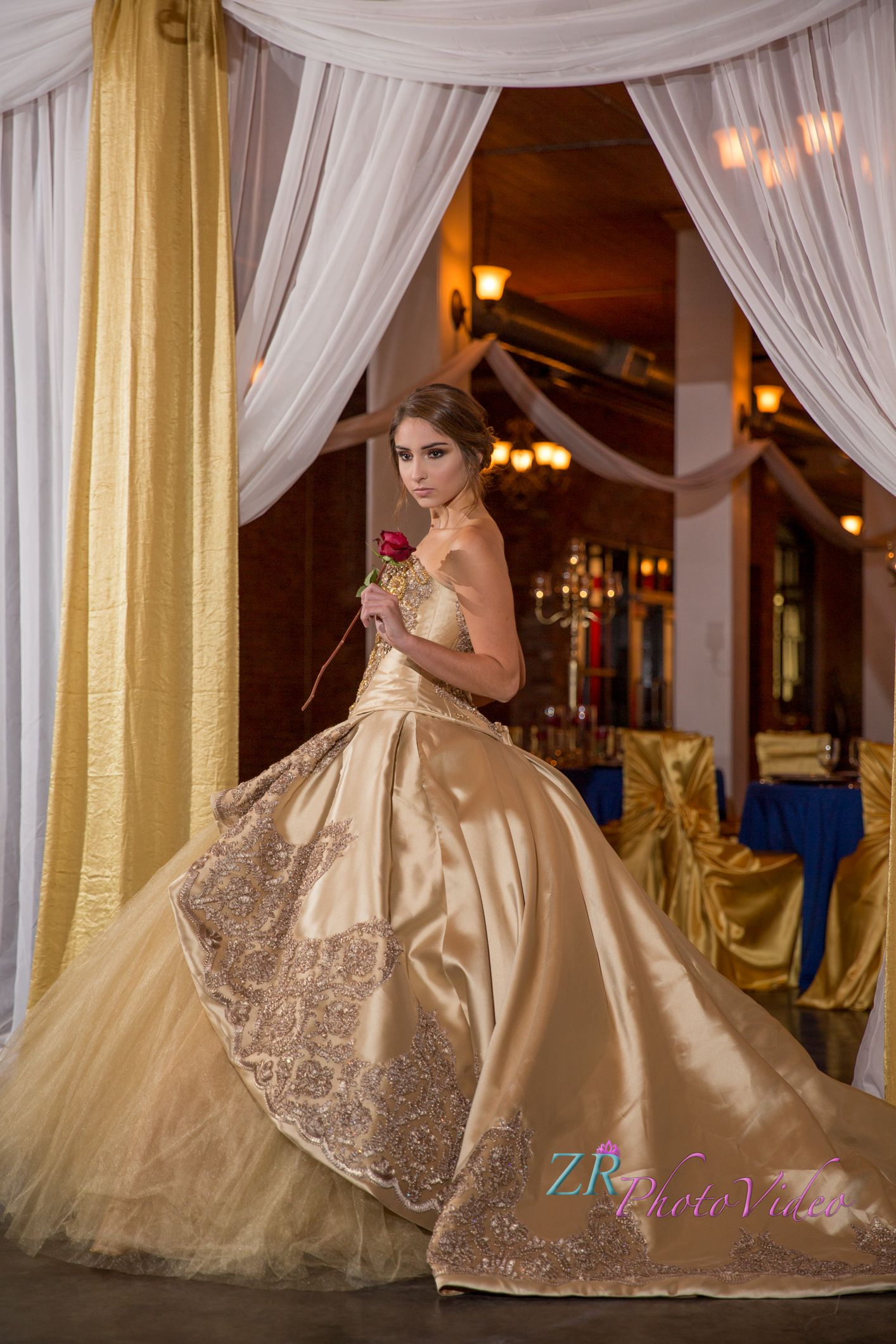 Beauty And The Beast Quinceanera Tale As Old As Time Gold And Red Wedding Gold And Red Q Beauty And The Beast Dress Quinceanera Dresses Gold Quince Dresses [ 2121 x 1414 Pixel ]