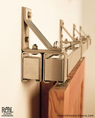 Stainless Box Rail Bypass Hardware (400 Lb) | Bypass Barn Door Hardware, Barn  Door Hardware And Barn Doors