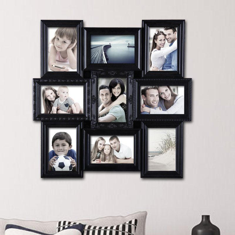 9 Opening Decorative Wall Hanging Collage Picture Frame Picture Collage Wall Picture Frame Designs Puzzle Picture Frame