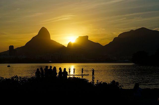 Pôr do Sol - Lagoa Rodrigo de Freitas, RJ