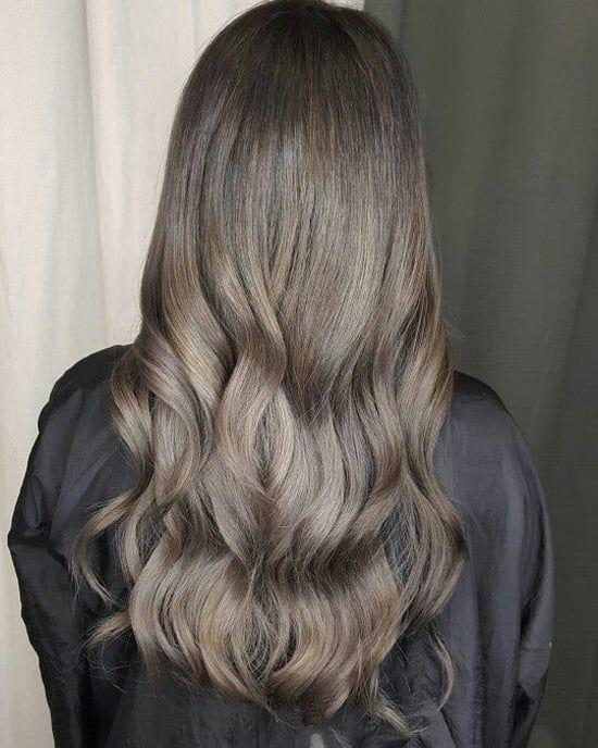 Пепельный цвет волос: темный, светлый, русый, блонд (с ...
