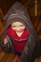 Teddy Bear Hooded Towel Tutorial - A Little Tipsy