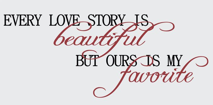 Love Story Quotes Story  Family Sayings  Google Search  Vinyl Projects  Pinterest