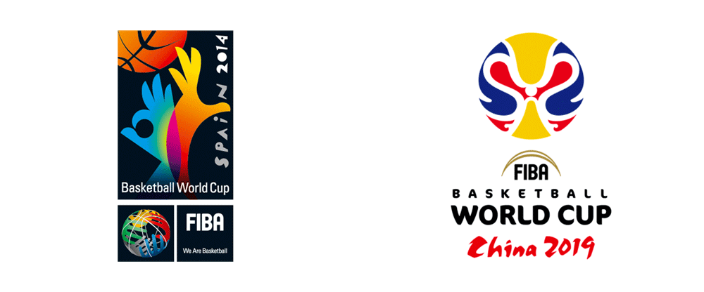 New Logo For 2019 Fiba World Cup World Cup World Fiba Basketball