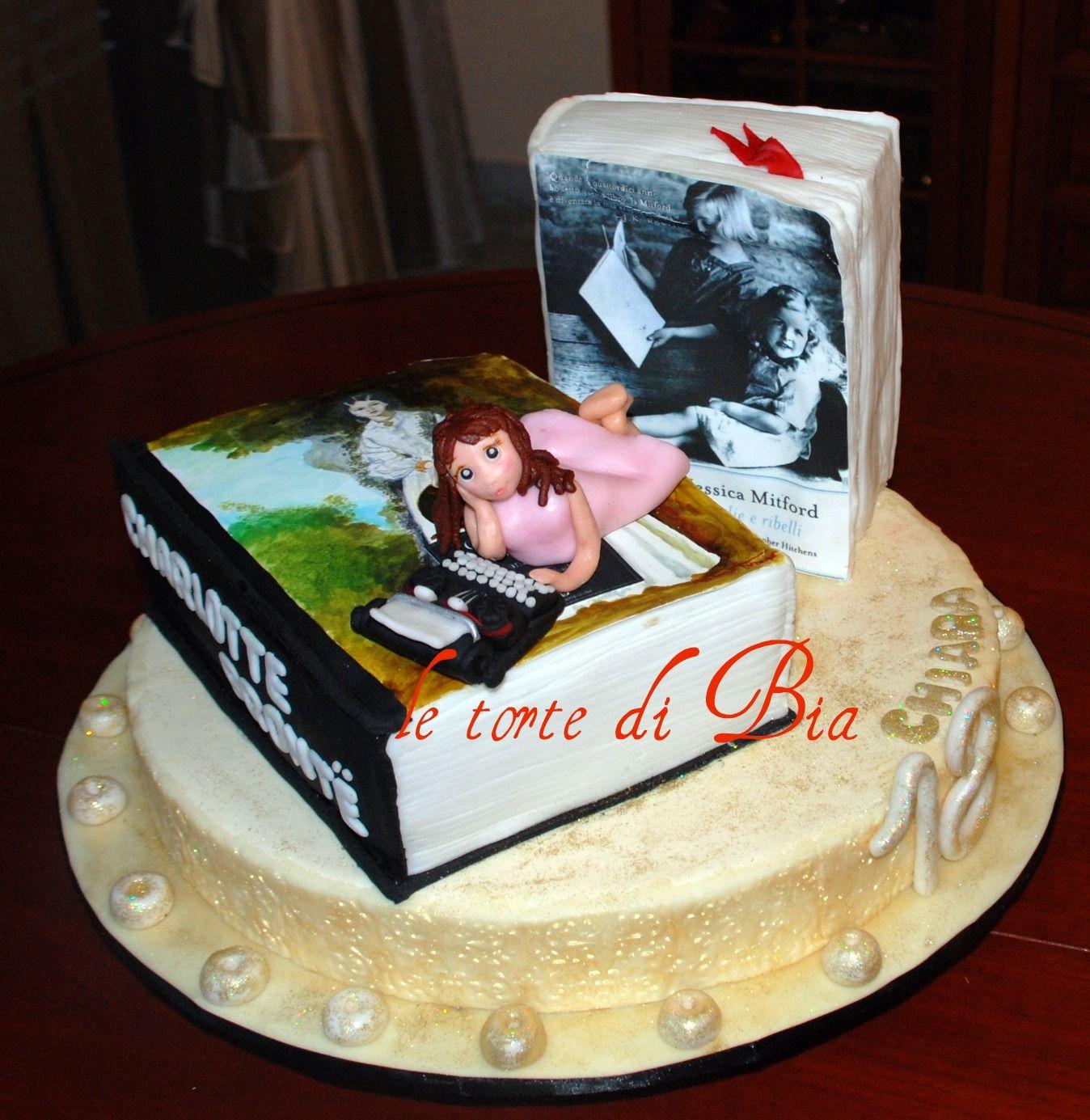 Peachy Books Cake Design Books Library Personalised Birthday Cards Xaembasilily Jamesorg