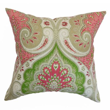 I pinned this Latika Pillow from the Preppy & Plush event at Joss and Main!