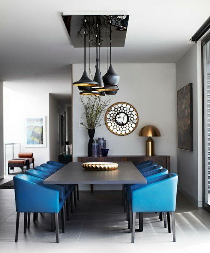 1001 ideas de comedores modernos seg n las ltimas - Espejos modernos salon ...
