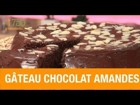 Gâteau Au Chocolat Et Aux Amandes Grammes YouTube - 750 grammes recette de cuisine