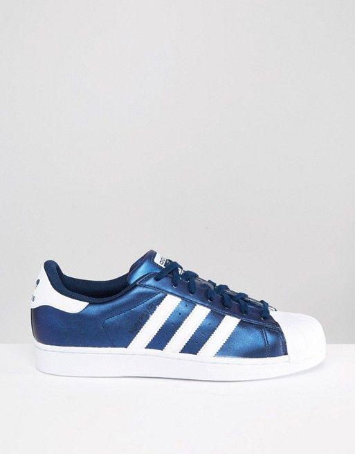 adidas originals superstar blue