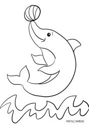 Delfini Da Stampare E Colorare.Disegni Di Delfini Da Stampare E Colorare Gratis Portale