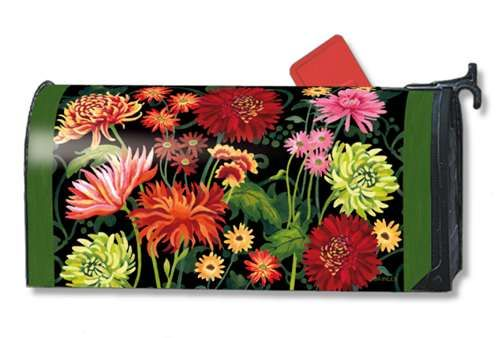 Autumn Garden Mailwrap Magnetic Mailbox Cover With Images