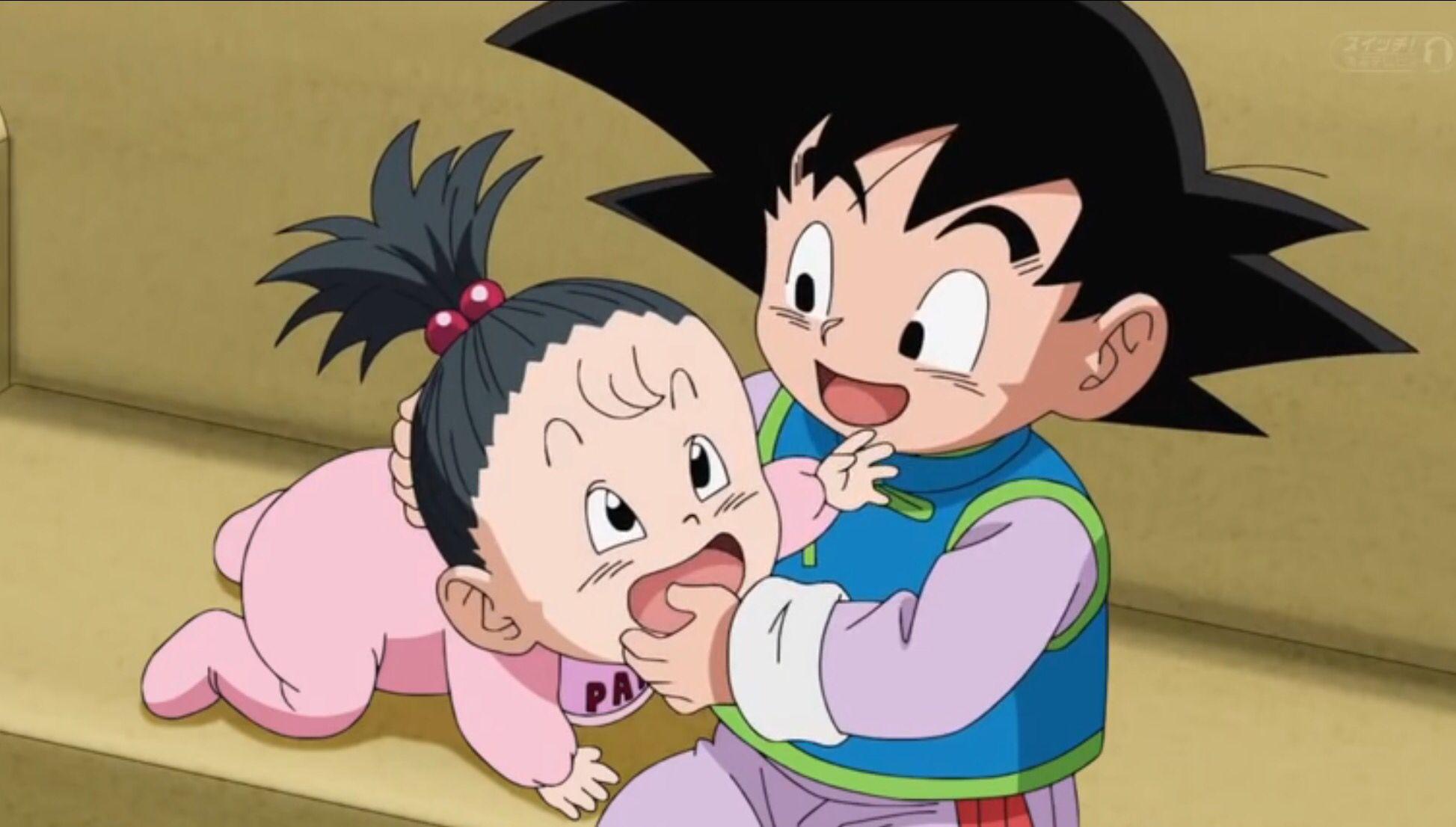 Goten And Pan Dragon Ball Super Episode 43 Anime Dragon Ball Dragon Ball Super Manga Dragon Ball Z