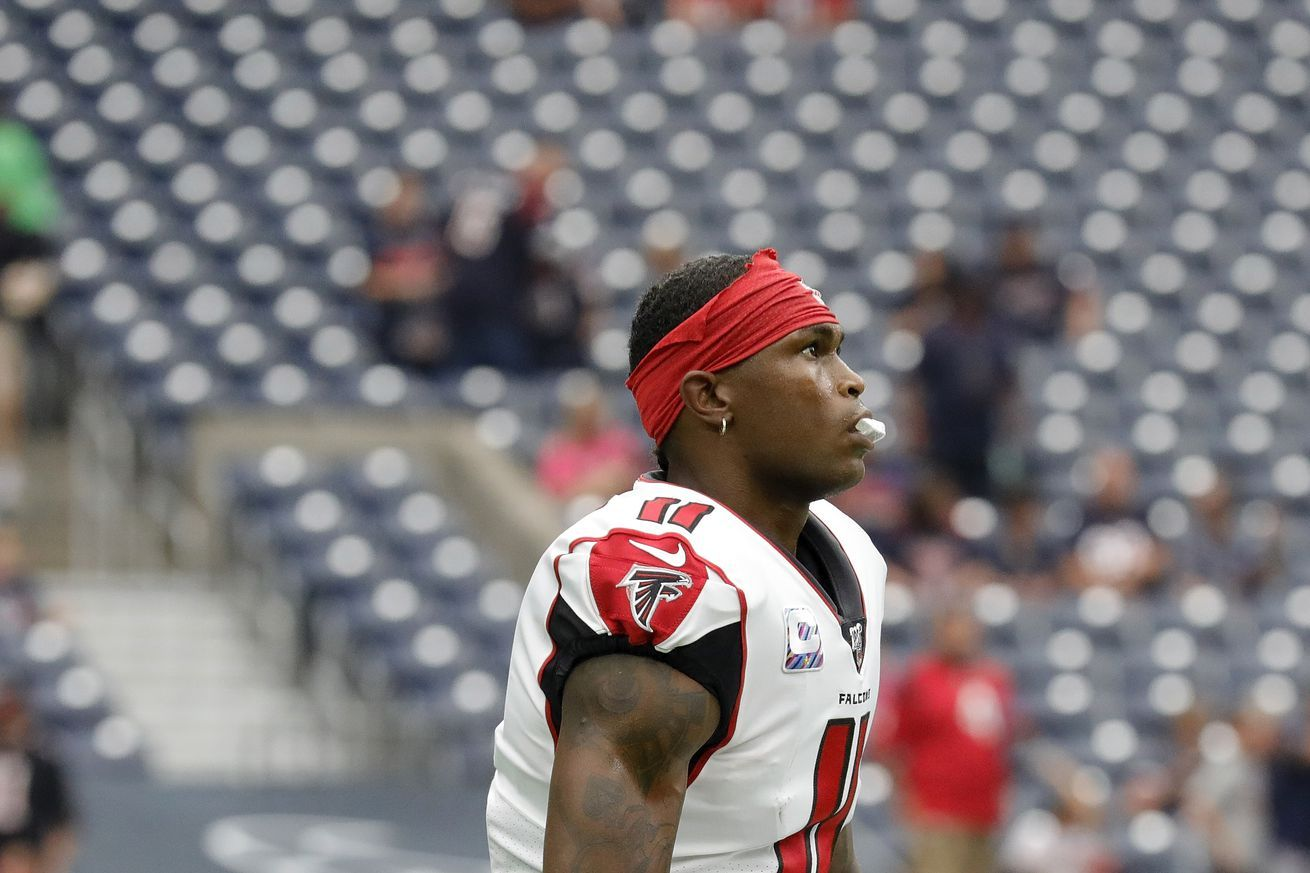 Falcons Injury Report Julio Jones And Desmond Trufant Held Out Of Wednesdays Practice Nfl News Nfl Update Nfl Nfl Slash Julio Jones Injury Report Nfl News