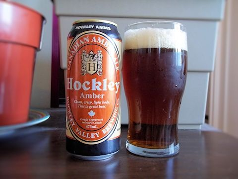 Hockley Amber From Hockley Valley Brewing Company In Orangeville