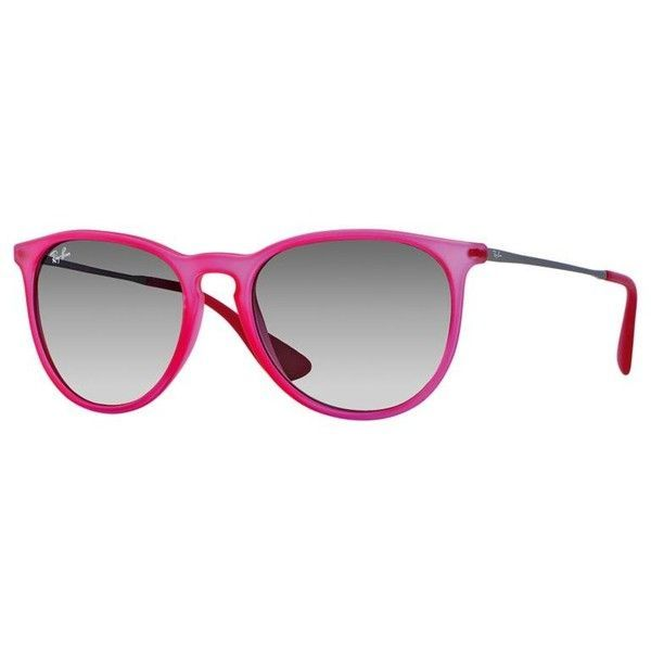 44c0967c66 Ray-Ban Womens Pink Sunglasses (155 CAD) ❤ liked on Polyvore featuring  accessories
