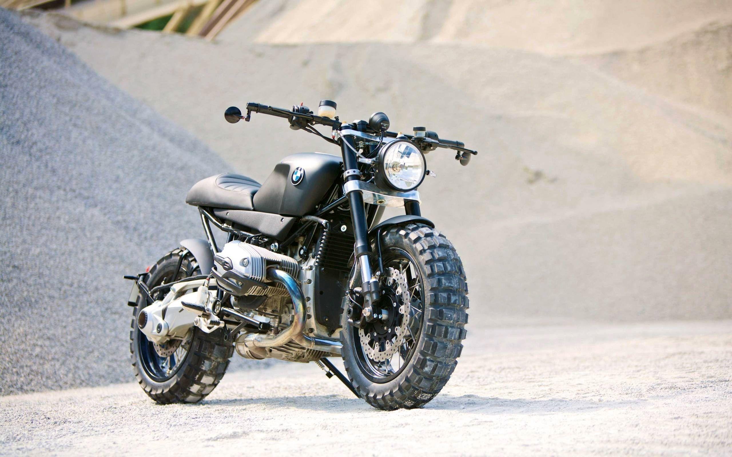 Motorcycle Bmw R1200r Scrambler Wallpaper Hd Desktop Wallpaper