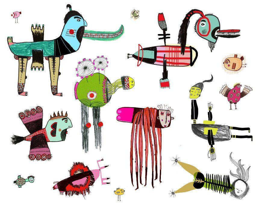 Kleiderständer clipart  Illustratoren zeichnen: Wie sieht ein Vogel aus? | charecter ...