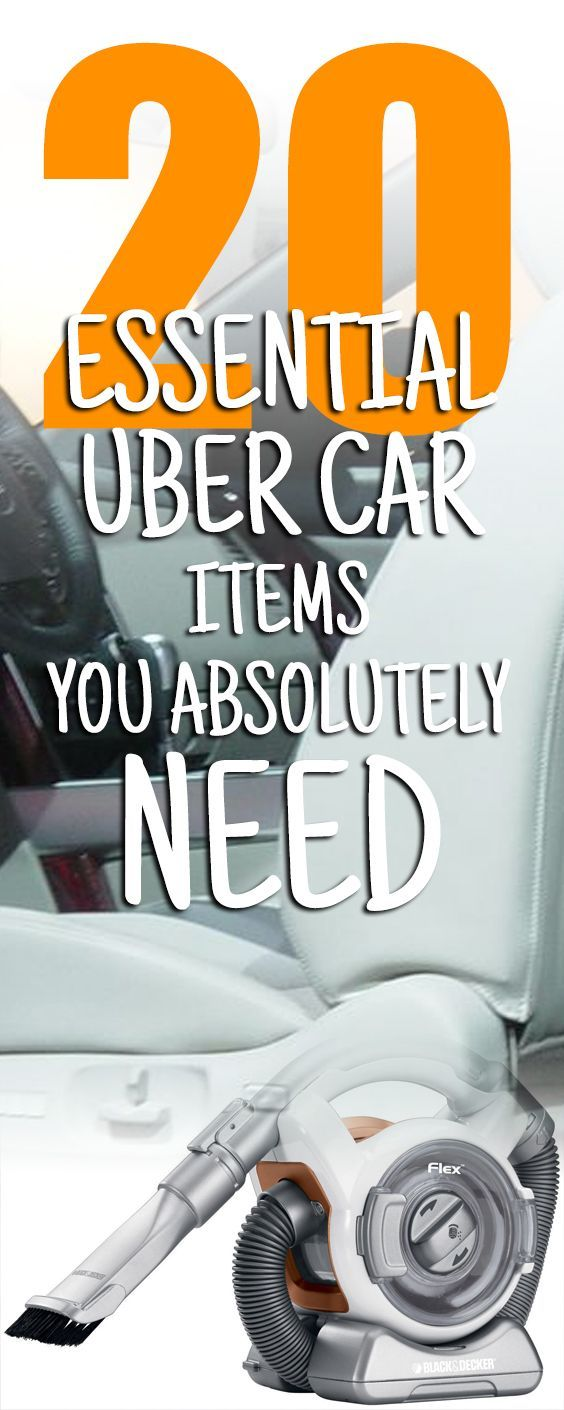20 Uber Driver Items That Should Be In Every Rideshare Car Uber