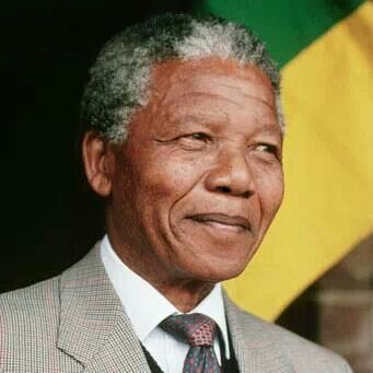 Nelson Mandela♥ We have lost a most noble & humble Man...a true Hero of our time ~