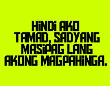 Pin by Weng Cq on humor | Hugot quotes tagalog, Tagalog