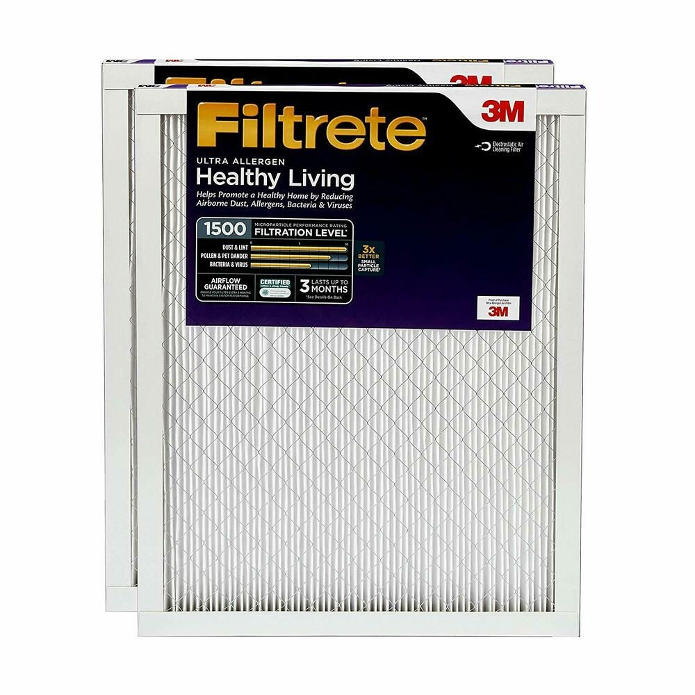 AIR CONDITIONER FURNACE AC FILTER SMART MPR 1500 20X30X1