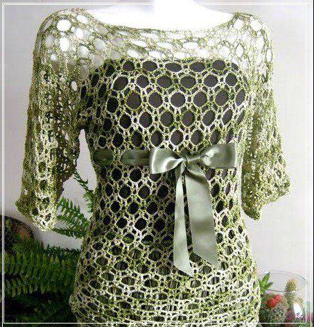 Häkeln Bluse freie Muster für Sie planieren Ihren Stil. - Kostenlose ...